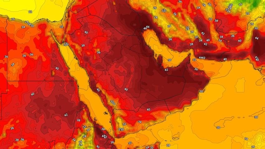 اليمن   حالة الطقس المُتوقعة الخميس 20/5/2021
