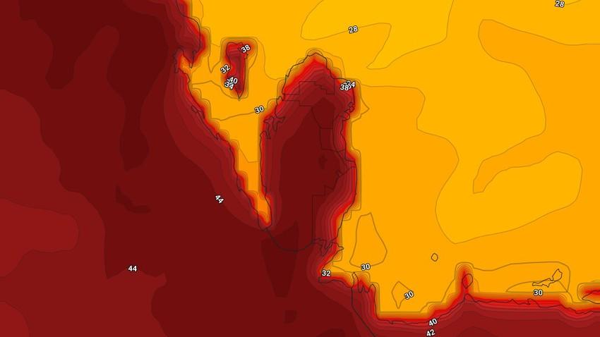 البحرين   حالة الطقس المُتوقعة يوم الأربعاء 19/5/2021
