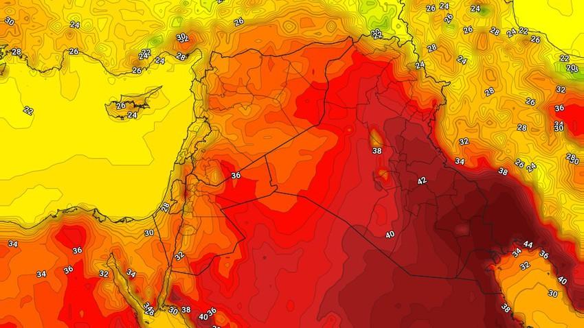 العراق | حالة الطقس المُتوقعة يوم الأربعاء 19/5/2021