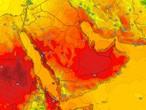 Yémen | Le temps doux se poursuit dans les hautes terres de l'ouest et les orages de pluie lundi