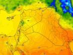 Irak | Les températures sont restées inférieures à leur moyenne, avec des vents du nord-ouest actifs dans certaines régions jeudi