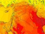 العراق | عودة درجات الحرارة للإرتفاع الإثنين مع استمرار نشاط الرياح المُثيرة للأتربة والغُبار