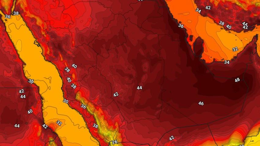 اليمن | حالة الطقس المُتوقعة الجمعة 30/7/2021