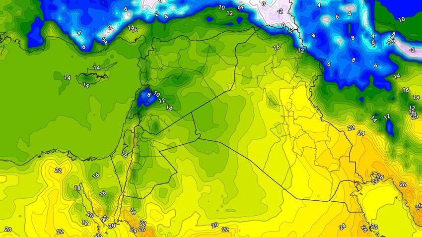 طقس العراق | ارتفاع طفيف على درجات الحرارة الأحد وأجواء مشمسة بوجهٍ عام