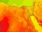 مصر | طقس حار نسبياً في اغلب المناطق يوم الخميس