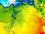 العراق | انخفاض ملموس على درجات الحرارة الأحد مع بقاء فرص الامطار واردة في بعض المناطق