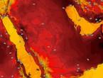 اليمن | استمرار فرص هطول الأمطار الرعدية على اجزاء من المرتفعات الغربية الإثنين
