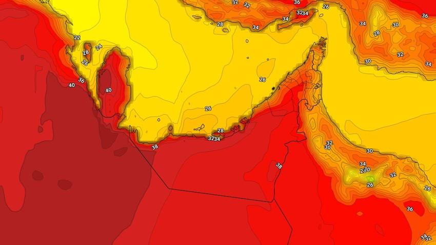 Emirates | Les températures élevées de dimanche et la possibilité d'averses d'orage dans l'est du pays