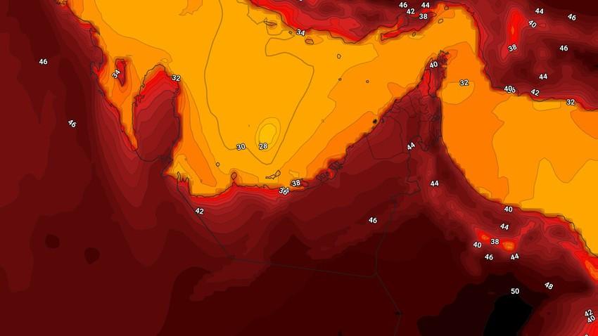 Émirats | Une légère hausse des températures mercredi et des vents poussiéreux actifs dans ces zones