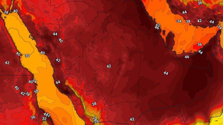 اليمن   درجات الحرارة تقترب من منتصف ال40 مئوية في بعض المناطق