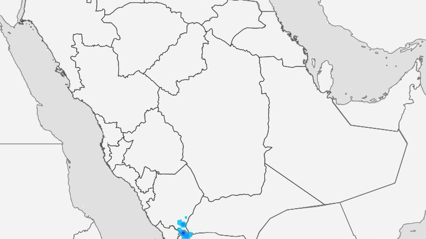 السعودية | تعرف فرص هطول الأمطار في المملكة يوم الأربعاء