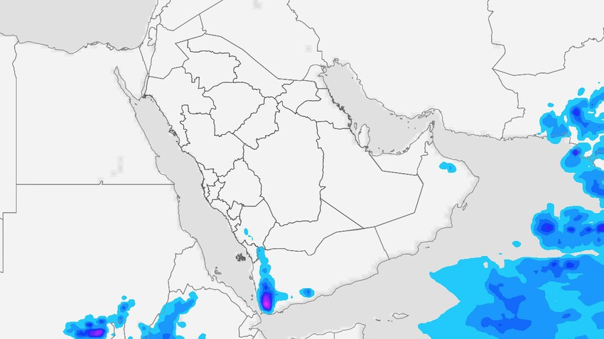 Yemen | Thunder clouds expected to intensify on Tuesday, warning of torrential rains