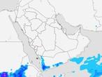 اليمن | إشتداد السُحب الرعدية على المرتفعات الجبلية الإثنين