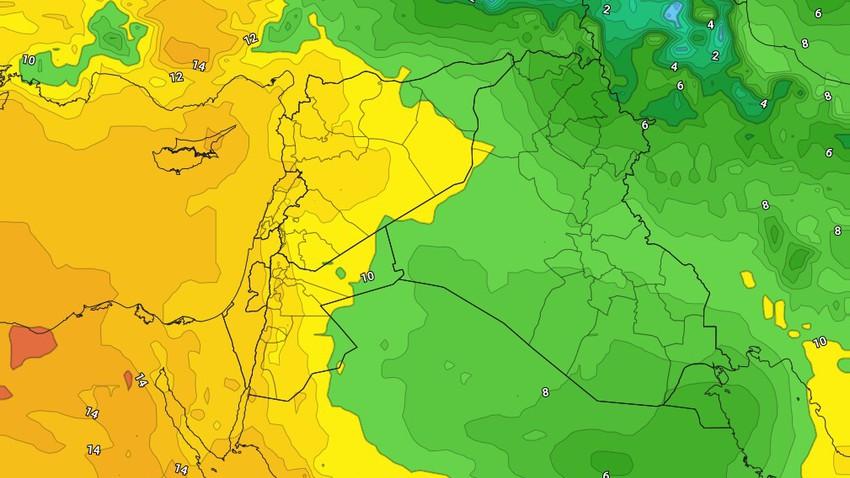 الإثنين | بدء تأثر المملكة بكتلة هوائية دافئة وغير مُعتادة لمثل هذا الوقت