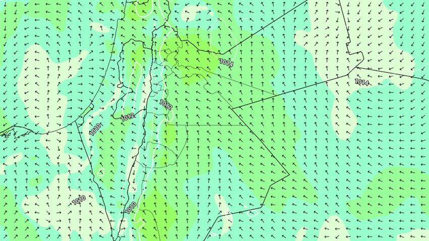 الأردن | عودة الرياح الشرقية من ليل الأربعاء/الخميس ويوم الخميس