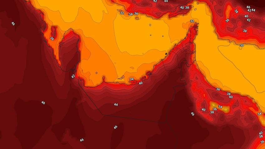 الإمارات | حالة الطقس المُتوقعة الاربعاء 9/6/2021