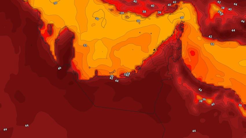 الإمارات | حالة الطقس المُتوقعه يوم الخميس 20/5/2021