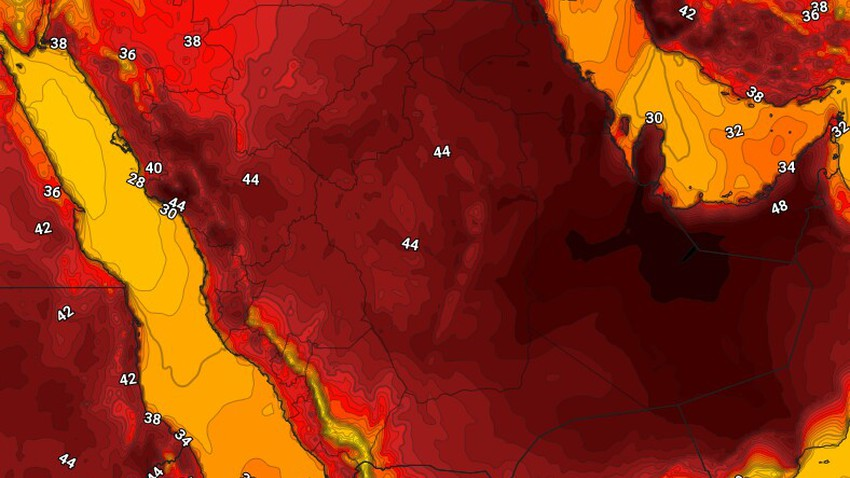 اليمن | حالة الطقس المُتوقعة الإثنين 7/6/2021