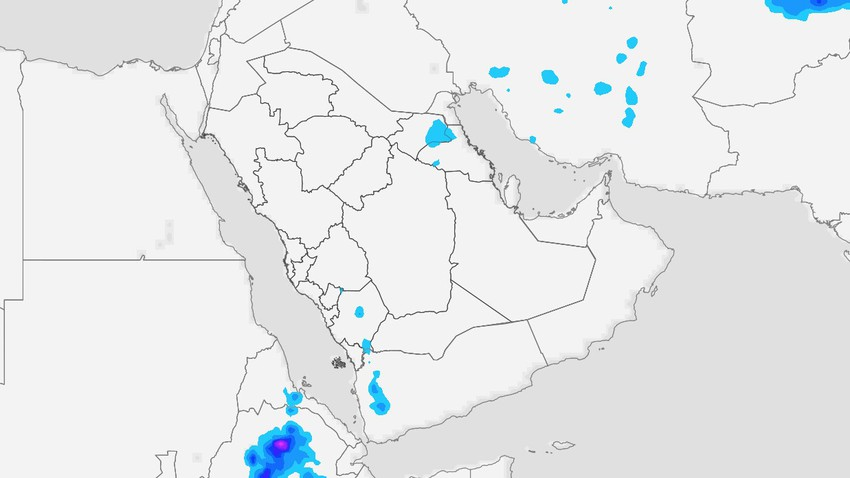 Saudi Arabia | Unstable weather conditions in the eastern region, Riyadh and southwest of the Kingdom on Monday