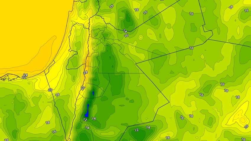 Arabia weather | Warning of the increased chances of catching a cold due to temperature differences and cold nights in Jordan