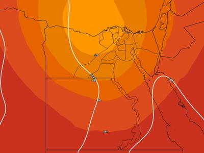 Egypt - weekend | The decrease in temperature increases with the effect of instability