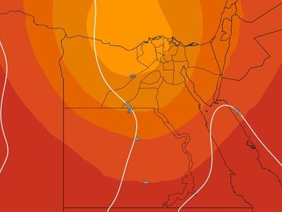 مصر-نهاية الأسبوع | انخفاض على درجات الحرارة مع تزايد تأثير حالة من عدم الاستقرار