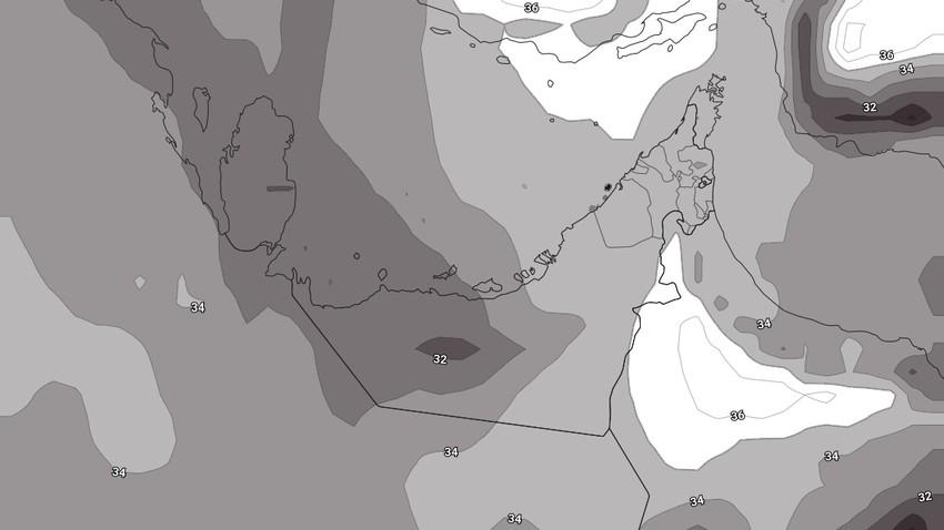 الإمارات | درجات حرارة قياسية في بعض المناطق نهاية الأسبوع واستمرار فرص تشكل الضباب خلال الليالي القادمة