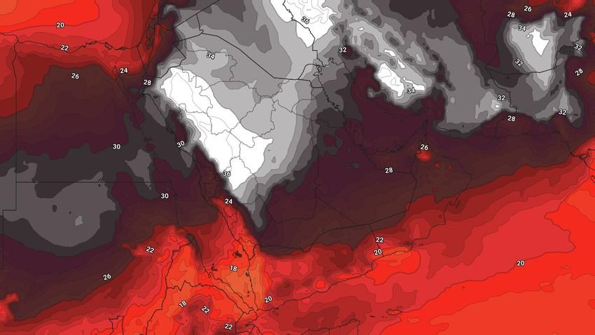 اليمن | احوال جوية غير مُستقرة وامطار رعدية غزيرة على بعض المناطق خلال عيد الأضحى المُبارك