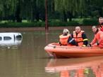 شلل مروري بسبب الفيضانات بأوسلو