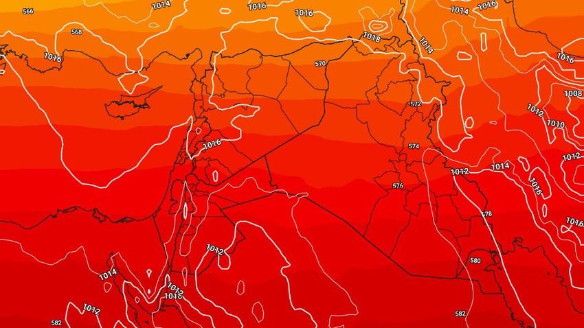 الأردن | ازدياد مُتوقع في دفء الأجواء خلال الأيام القادمة . تفاصيل