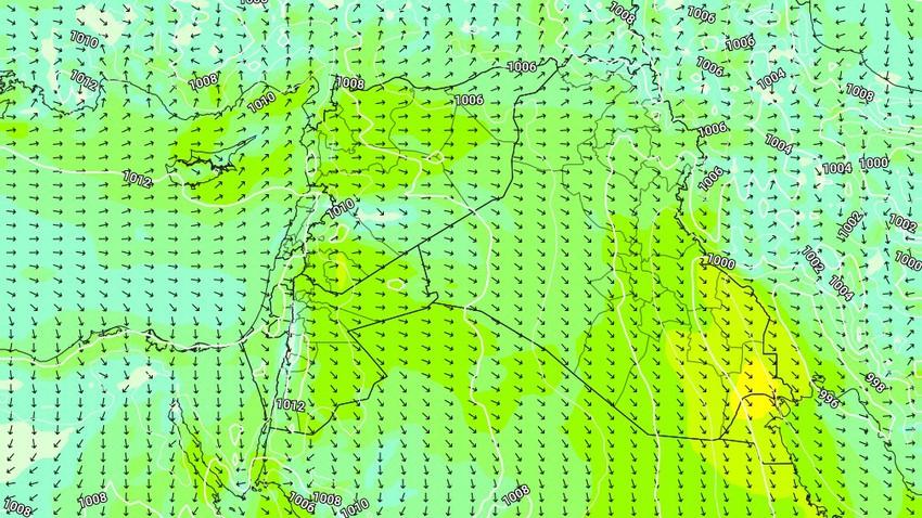 الكويت | طقس حار وإشتداد لافت على حدة رياح البوارح خلال الأيام القادمة وتنبيه من كثافة الغُبار في بعض المناطق