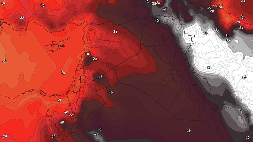 Jordan | Temperatures will return to a slight increase over the weekend