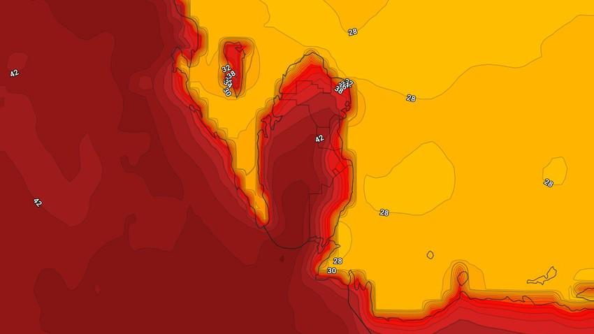البحرين | حالة الطقس المُتوقعة في المملكة فترة عيد الفطر السعيد