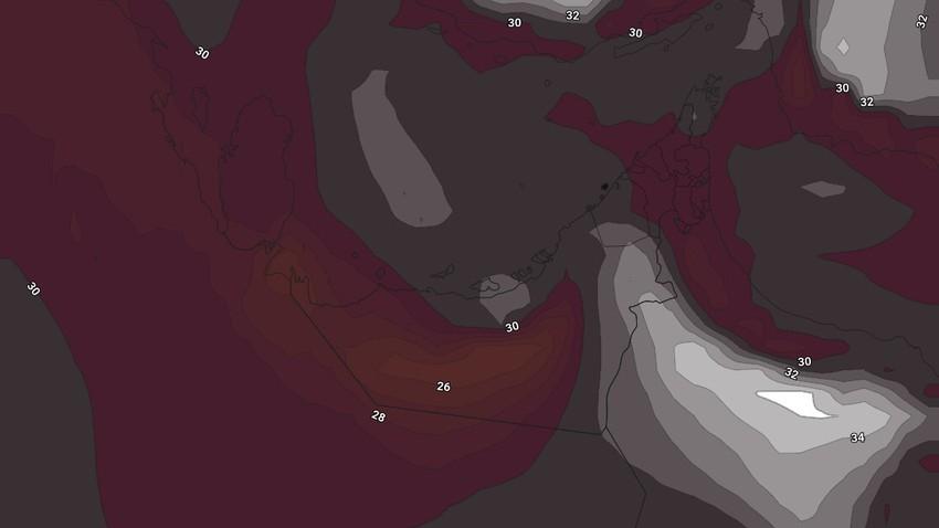 Émirats | Les températures chuteront au cours du week-end car le temps reste chaud