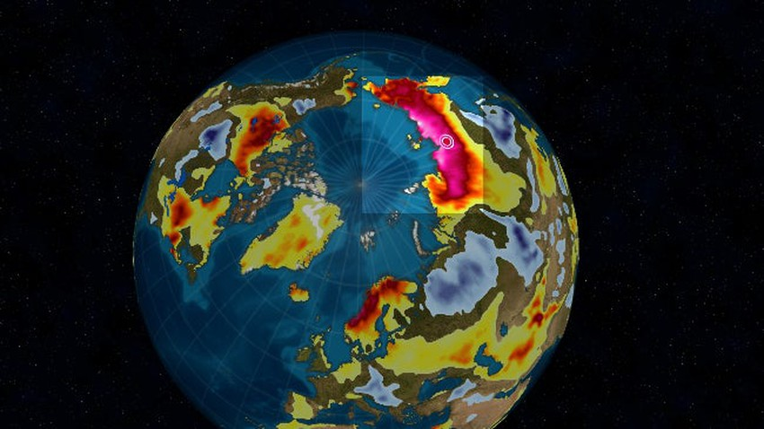 A Russian city has recorded the highest temperature to date in the Arctic since 1885