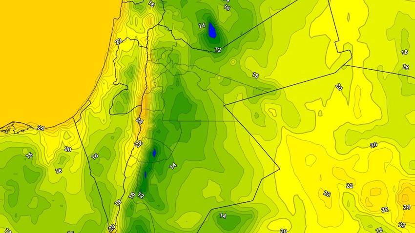الأردن | الليالي الباردة نسبياً والضبابية تعود إلى المملكة والطقس يحتاج إلى ارتداء معطف خفيف