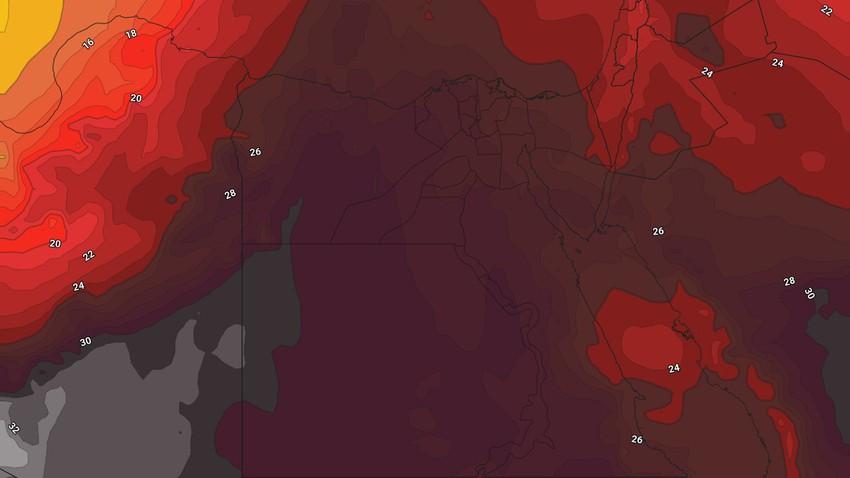 مصر | عودة اشتداد تأثير الكتلة الهوائية شديدة الحرارة يوم السبت