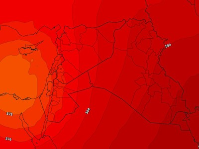 Jordan | Air instability affecting parts of the Kingdom on Saturday / Sunday night