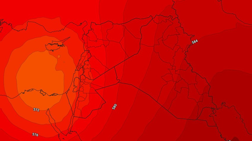 الأردن | عدم استقرار جوي تؤثر على أجزاء من المملكة ليل السبت/الأحد