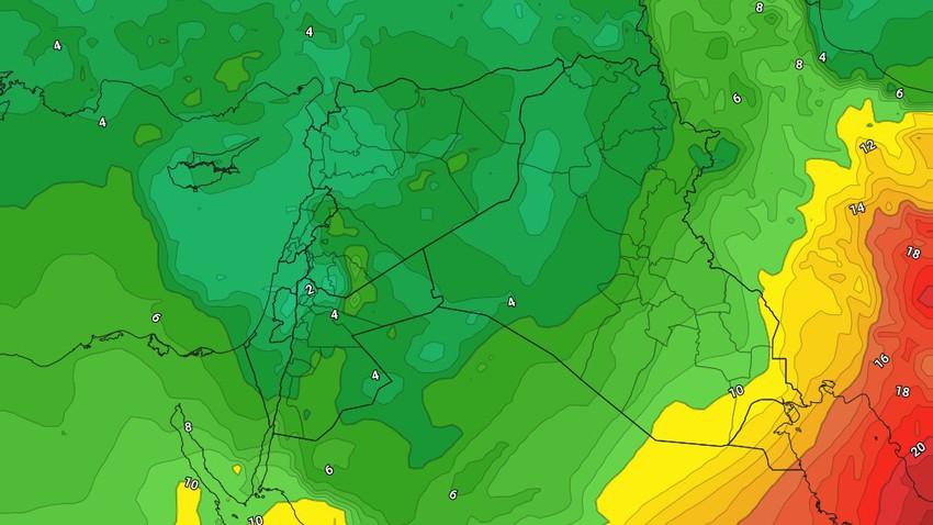 العراق   انخفاض على درجات الحرارة وزخات مطرية وثلجية فوق المناطق الشمالية خلال الأيام القادمة