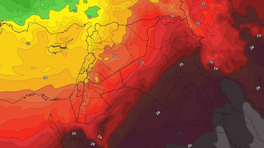 الأردن | أجواء صيفية إعتيادية الثلاثاء تزامناً مع بداية فصل الصيف في علم الأرصاد الجوية