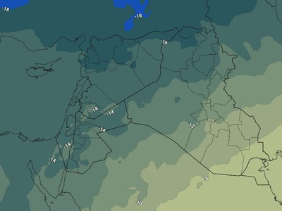 Jordan | Increasing indications that the Kingdom will be affected by unstable weather conditions that result in thunderstorms