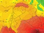 Irak - Week-end | L'effet continu de la masse d'air d'automne avec des températures inférieures à leur moyenne sur le pays