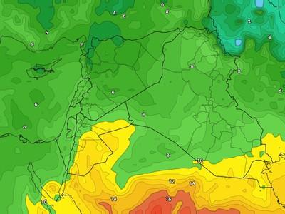 الأردن | تجدد الاحوال الجوية غير المستقرة السبت وسحب رعدية على بعض المناطق