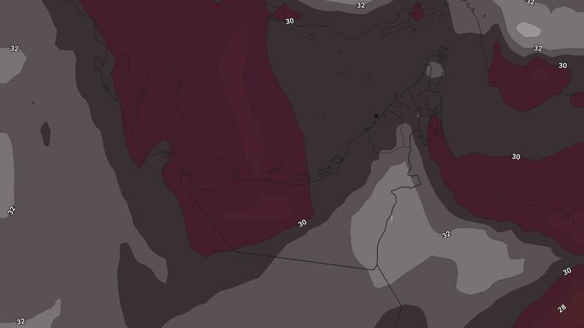 الإمارات   ارتفاع على درجات الحرارة مع نشاط للرياح ومُراقبة فرص تشكل للضباب الكثيف خلال نهاية الأسبوع