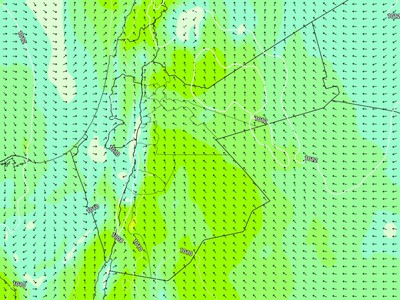 Jordan | Eastern winds returned on Thursday / Friday night and intensified at the end of the week