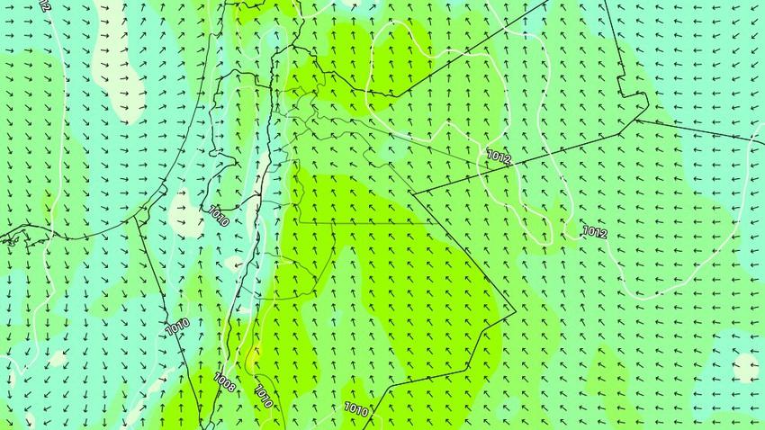 الاردن - نهاية الاسبوع | عودة الرياح الشرقية وأجواء جافة في عموم مناطق المملكة