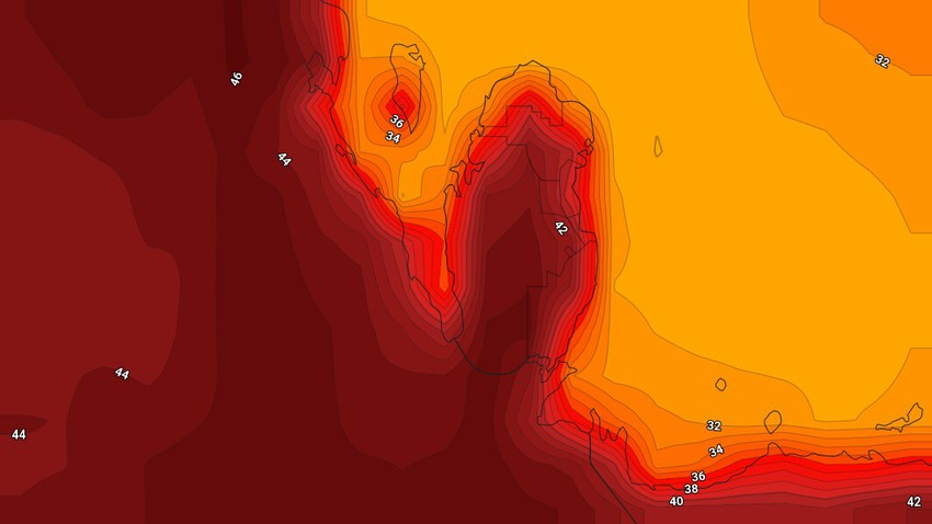 طقس نهاية الأسبوع في البحرين | أجواء شديدة الحرارة ومرهقة الأيام القادمة