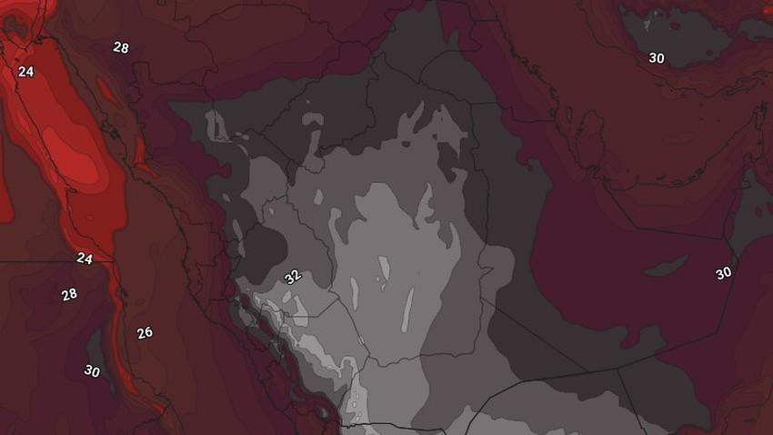 اليمن | حالة الطقس المُتوقعة يوم الجمعة 14/5/2021