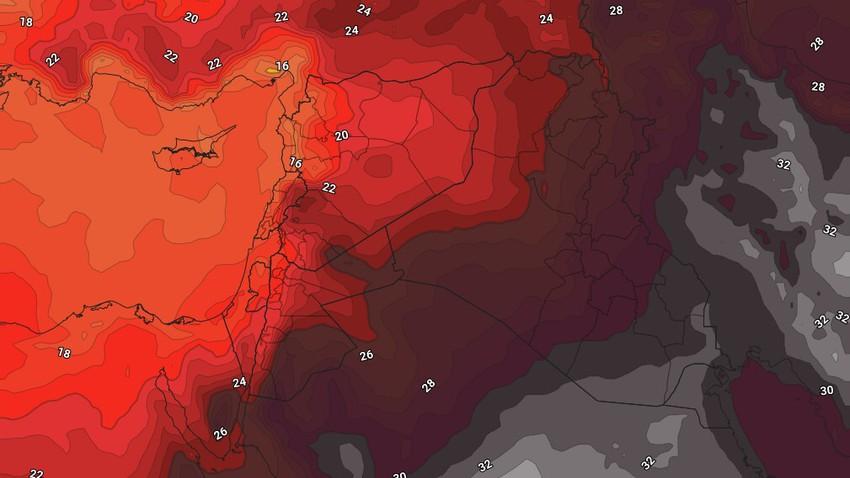 العراق | استقرار على الطقس وارتفاع ملموس على درجات الحرارة الأيام القادمة